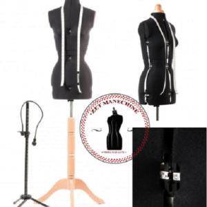 Marime S (32-42) Manechin reglabil accesorizat Manechine Reglabile Croitorie