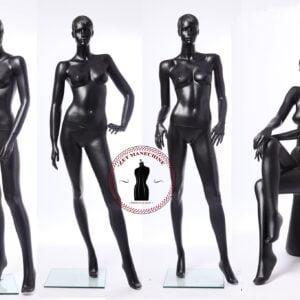 Manechine dama cu trasaturi (4 modele) Manechine Vitrina Fibra de Sticla